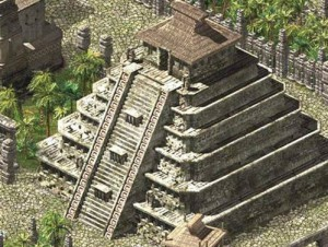 Гватемала: поселение майя Эль-Мирадор с пирамидой Тигра.