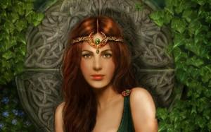 Кельтская дева - моя  прошлая жизнь
