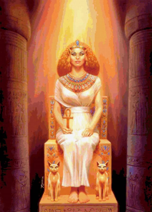 Египетская жрица-2